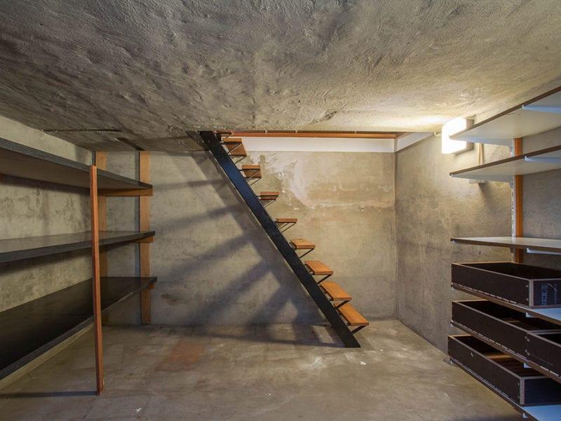 Dark, empty basement